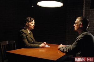 Margaret Carter (Earth-199999) and Daniel Whitehall (Earth-199999) from Marvel's Agents of S.H.I.E.L.D. Season 2 8