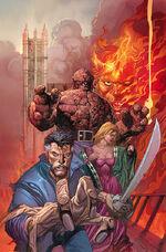 Marvel 1602 Fantastick Four Vol 1 1 Textless