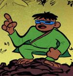 Mole Monkey (Earth-2991) from Franklin Richards Sons of Geniuses Vol 1 1 001