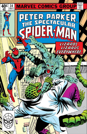 Peter Parker, The Spectacular Spider-Man Vol 1 34