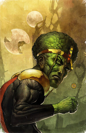 Skaar Son of Hulk Vol 1 6 Villain Variant Textless