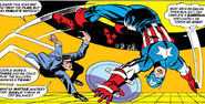Steve Rogers (Earth-616) Captain America vs Nick Fury from Stange Tales Vol 1 159