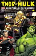 Thor vs. Hulk Champions of the Universe Vol 1 4