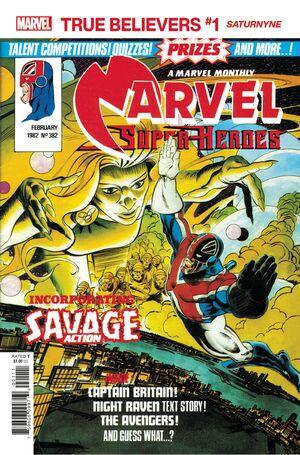 True Believers X-Men - Saturnyne Vol 1 1