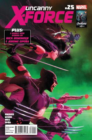 Uncanny X-Force Vol 1 25