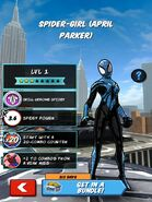 April Parker from Spider-Man Unlimited (video game) 001