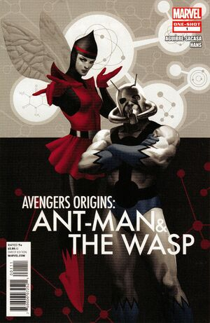 Avengers Origins Ant-Man & the Wasp Vol 1 1