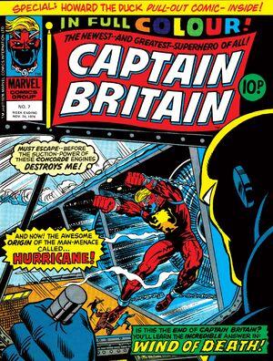 Captain Britain Vol 1 7
