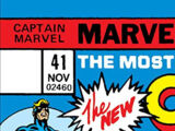 Captain Marvel Vol 1 41