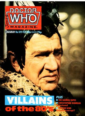 Doctor Who Magazine Vol 1 109