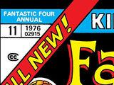 Fantastic Four Annual Vol 1 11
