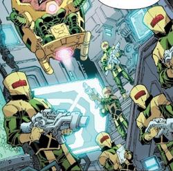 Highly Destructive Radical Armaments (Warp World) (Earth-616) from Infinity Wars Sleepwalker Vol 1 1 001