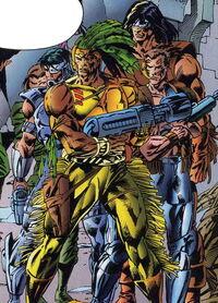 Human Tribe (Earth-928) Hulk 2099 Vol 1 10
