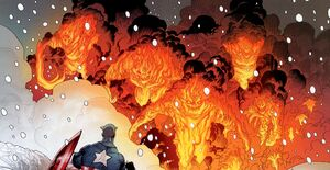 Inhuman Torches (Earth-616) From Thunderbolts Vol 1 164