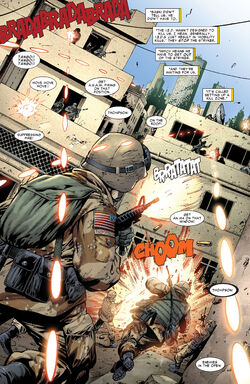 Iraq War from Amazing Spider-Man Vol 1 574 001