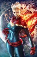 Life of Captain Marvel Vol 2 1 Artgerm Virgin Variant