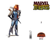 Marvel Zombies Vol 2 1 Ant-Sized Variant Wraparound