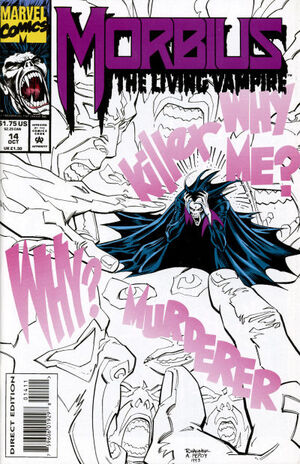 Morbius The Living Vampire Vol 1 14