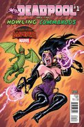 Mrs. Deadpool and the Howling Commandos Vol 1 1 Warren Variant