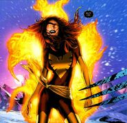 Phoenix Force (Earth-616) from X-Men Phoenix Endsong Vol 1 3 0001
