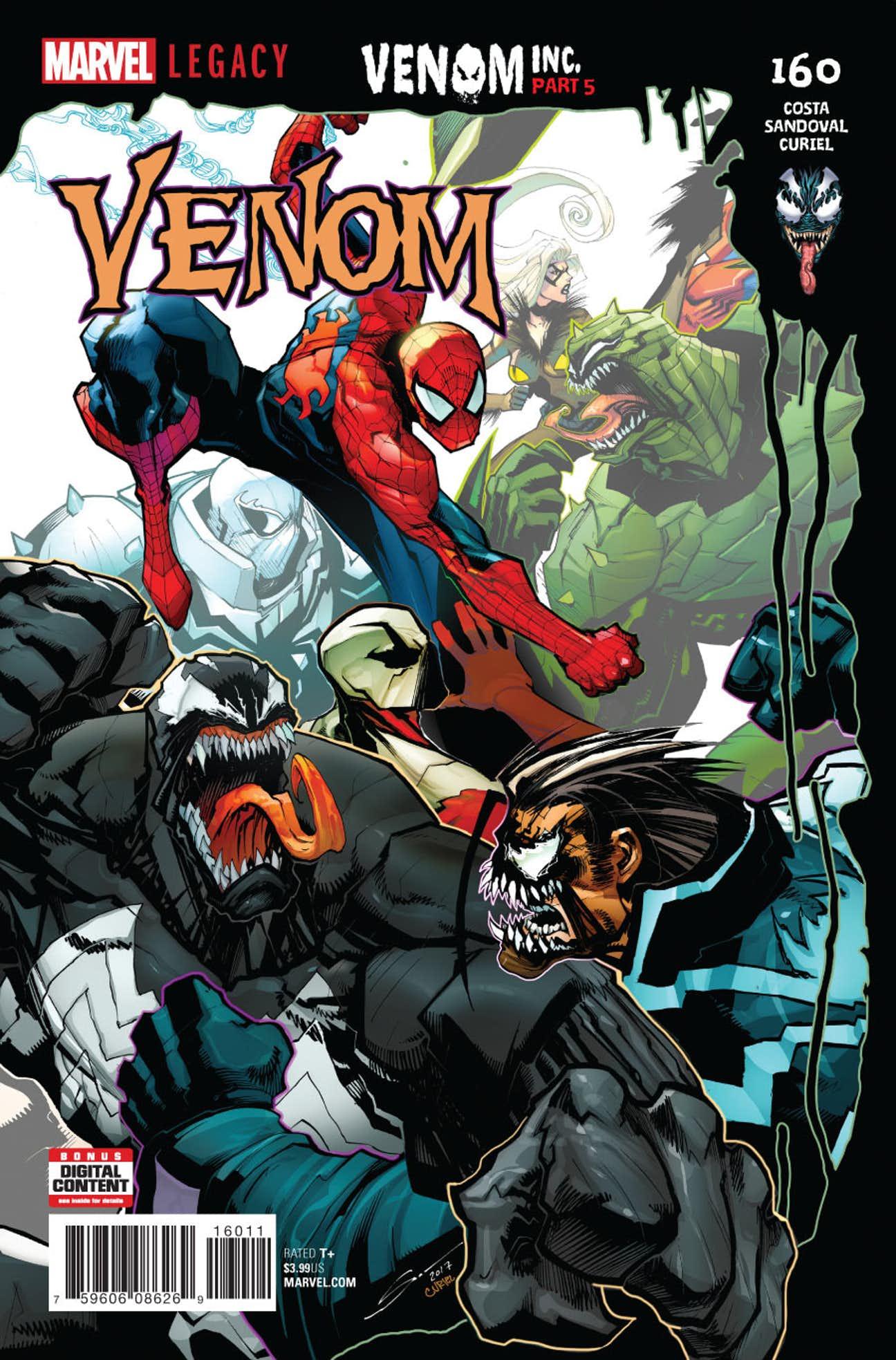 Venom Vol 1 160 | Marvel Database | FANDOM powered by Wikia