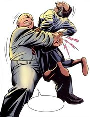 Wilson Fisk (Earth-7642) and Ra's al Ghul (Earth-7642) from Batman and Spider-Man Vol 1 1 001