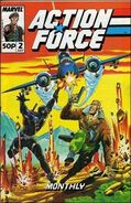 Action Force Monthly Vol 1 2