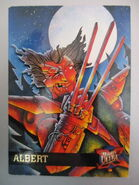 Albert (Earth-616) from Ultra X-Men (Trading Cards) 1995 Set 0001