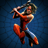 Ashley Barton from Spider-Man Unlimited (video game) 0002
