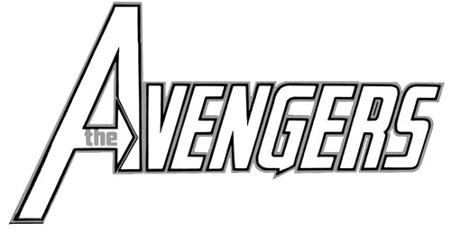 fileavengers logojpg - Avengers Coloring Pages