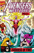 Avengers West Coast Vol 1 71