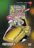 Charles Xavier (Earth-616) from Marvel Universe Cards Series III 0001