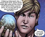 Chase Stein (Earth-616) and 4-D Time Portico from Runaways Vol 2 26 0001