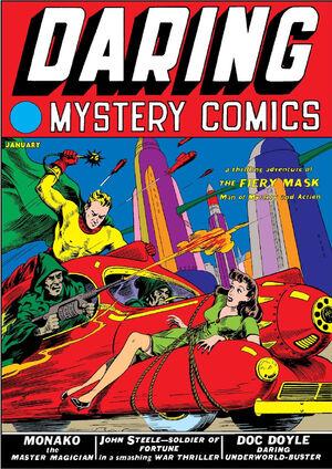 Daring Mystery Comics Vol 1 1