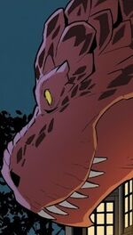 Devil Dinosaur (Earth-Unknown) from Unbelievable Gwenpool Vol 1 25 001