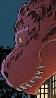 Devil Dinosaur (Earth-Unknown) from Unbelievable Gwenpool Vol 1 25 001