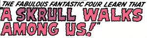 Fantastic Four Vol 1 18 Title