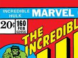 Incredible Hulk Vol 1 160