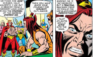 Kamuu (Ancient Atlantis) (Earth-616) Katherine Reynolds (Earth-616) and Daiman Hellstrom (Earth-616) from Marvel Spotlight Vol 1 17