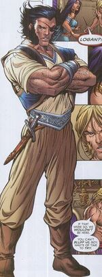 Logan (Earth-6706) from New Exiles Vol 1 2 0001