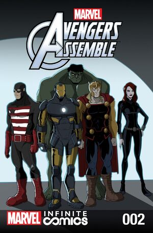 Marvel Universe Avengers Infinite Comic Vol 1 2