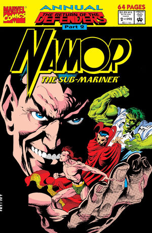 Namor the Sub-Mariner Annual Vol 1 2