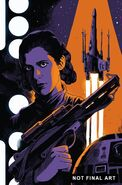 Princess Leia Vol 1 3 Francavilla Textless Variant