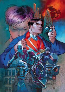 Spider-Man 2099 Vol 3 8 Story Thus Far Variant Textless