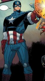 Steven Rogers (Earth-14112) from Longshot Saves the Marvel Universe Vol 1 3 01