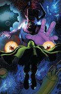 Victor von Doom (Earth-616) vs. Galan (Earth-616) from Fantastic Four Vol 6 6 001
