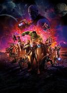 Avengers Infinity War poster 009 Textless
