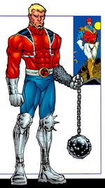 Bran Braddock (Earth-2122) from X-Men Phoenix Force Handbook Vol 1 1 0001