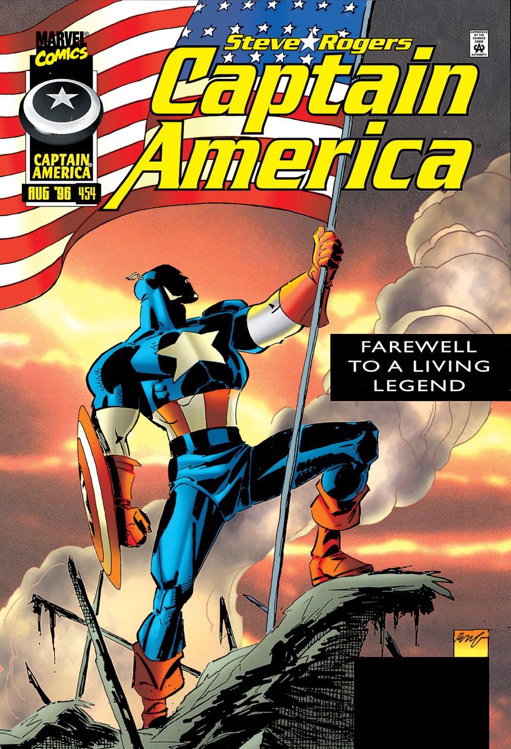 Captain America Vol 1 454