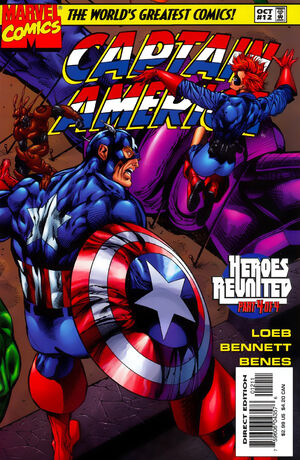 Captain America Vol 2 12